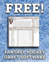 Free Fantasy Hockey Draft Software
