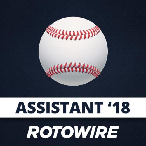 2018 Fantasy Baseball Assistant