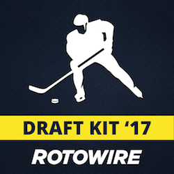 2017 Fantasy Hockey Draft Kit