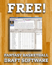 Free Fantasy Basketball Draft Software