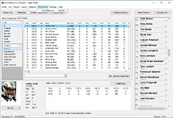 2019 Fantasy Football Draft Software