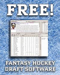 Free Fantasy Hockey Draft Software